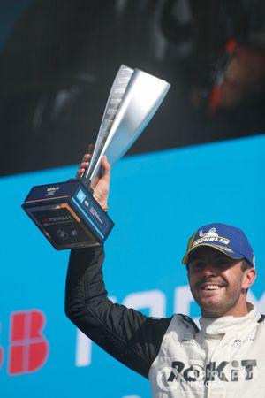 Norman Nato, Venturi Racing, 1e positie, op het podium
