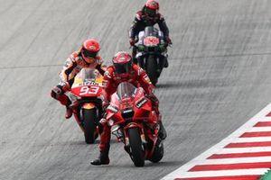 Francesco Bagnaia, Ducati Team Marc Marquez, Repsol Honda Team