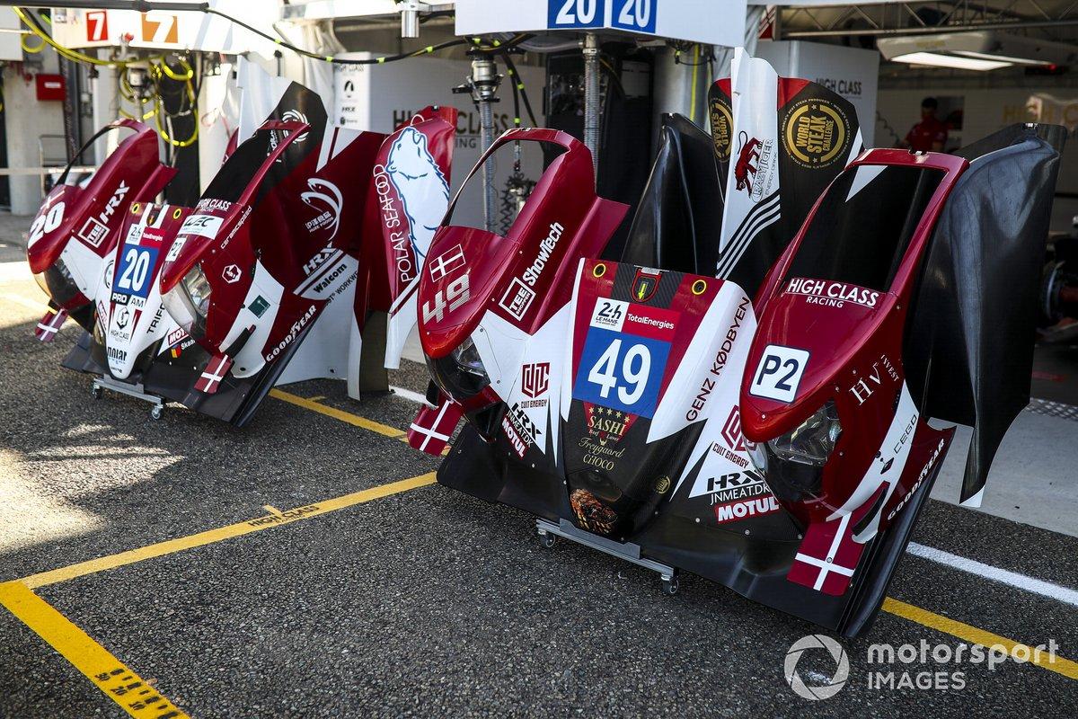 #49 High Class Racing Oreca 07 - Gibson LMP2 of Anders Fjordbach, Jan Magnussen, Kevin Magnussen