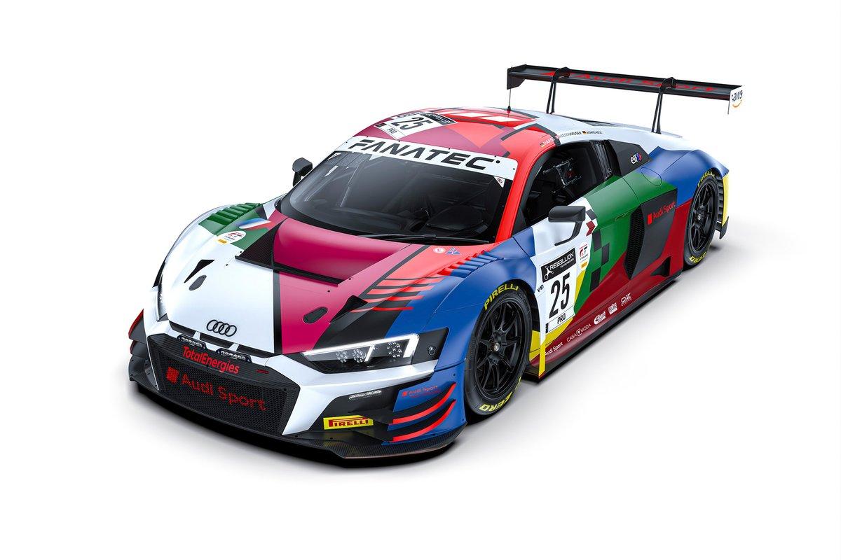 #25 Audi Sport Team Sainteloc Audi R8 LMS GT3: Markus Winkelhock, Patrick Niederhauser, Christopher Haase