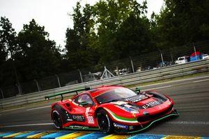 #388 Rinaldi Racing Ferrari 488 GTE EVO LMGTE Am of Pierre Ehret, Christian Hook, Jeroen Bleekemolen