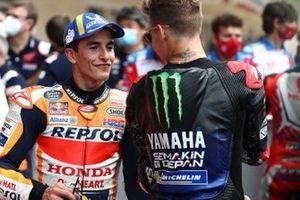 Marc Marquez, Repsol Honda Team Fabio Quartararo, Yamaha Factory Racing