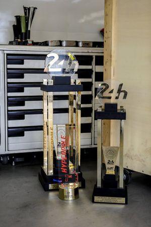 I trofei della Toyota Gazoo Racing
