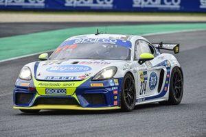 #274 Autorlando Sport, Porsche 718 Cayman GT4: Dario Baruchelli, Maurizio Fratti