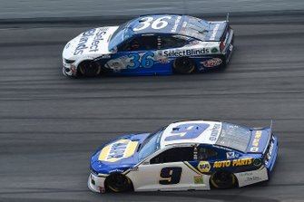 Chase Elliott, Hendrick Motorsports, Chevrolet Camaro NAPA Auto Parts, David Ragan, Rick Ware Racing, Ford Mustang Select Blinds