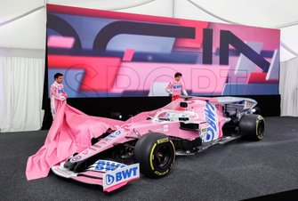 Sergio Perez, Racing Point e Lance Stroll, Racing Point