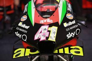 La moto d'Aleix Espargaro, Aprilia Racing Team Gresini