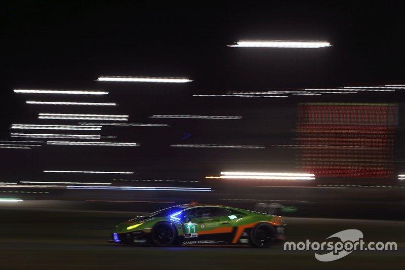 #11 GRT Grasser Racing Team Lamborghini Huracan GT3: Richard Heistand, Steijn Schothorst, Albert Costa, Franck Perera
