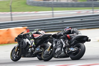 Cal Crutchlow, Team LCR Honda, Bradley Smith, Aprilia Racing Team Gresini