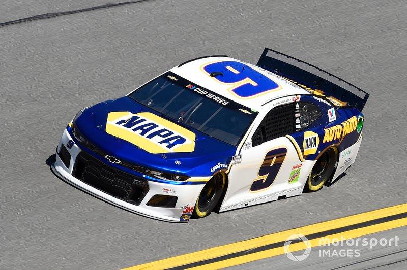 5. Chase Elliott (Hendrick-Chevrolet): 3021 Punkte