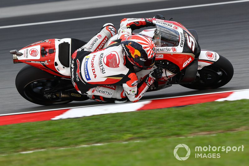 Жоан Зарко впервые в нынешнем сезоне напрямую попал во второй квалификационный сегмент. Это не удавалось ему ни в KTM, ни в первый уик-энд с LCR Honda