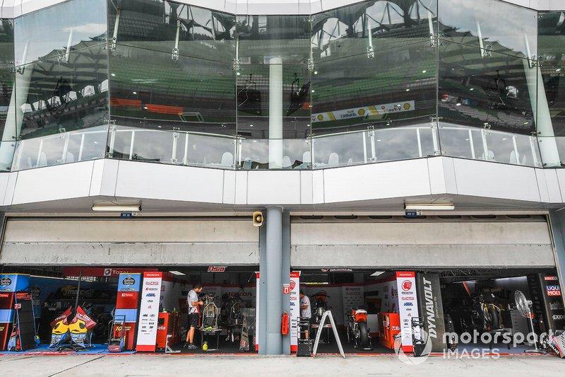 Sepang garage overview