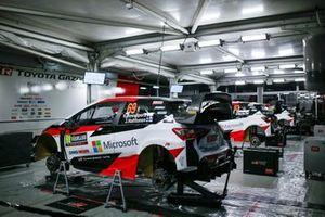 Автомобиль Toyota Yaris WRC Калле Рованперы и Йонне Халттунена, Toyota Gazoo Racing WRT