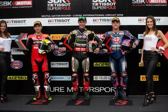 Alvaro Bautista, Aruba.it Racing-Ducati Team, Jonathan Rea, Kawasaki Racing Team, Alex Lowes, Pata Yamaha