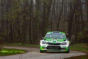 Ференц Винце и Игор Бацигаль, Korda Racing Team, Skoda Fabia R5