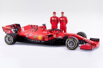 Sebastian Vettel, Ferrari, Charles Leclerc, Ferrari , Ferrari SF1000