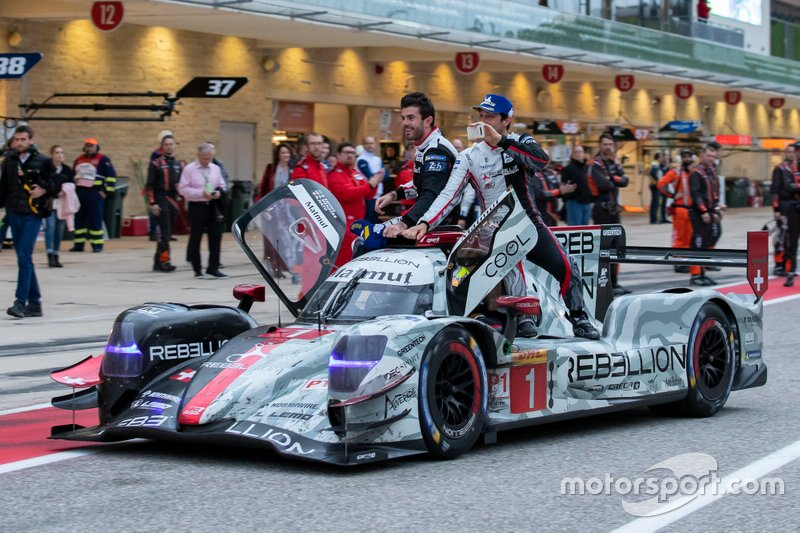 #1 Rebellion Racing - Rebellion R13 - Gibson: Bruno Senna, Gustavo Menezes, Norman Nato