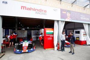 Le garage Mahindra Racing