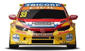 Livery Tom Coronel FIA Motorsport Games