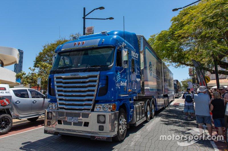 Tim Blanchard Racing transporter