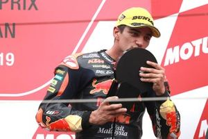 Podium: derde plaats Jorge Martin, KTM Ajo
