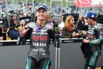 tercero Fabio Quartararo, Petronas Yamaha SRT