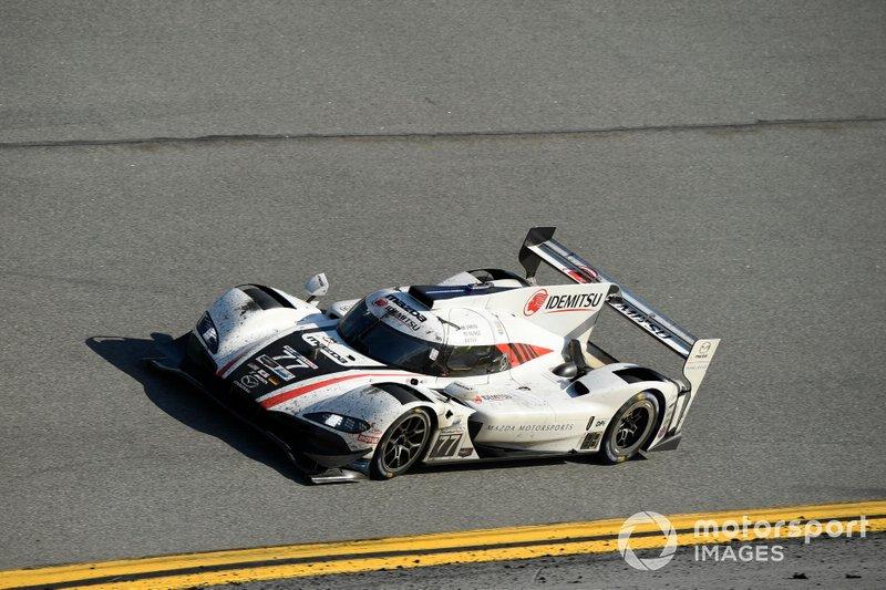 #77 Mazda Team Joest Mazda DPi, DPi: Oliver Jarvis, Tristan Nunez, Olivier Pla