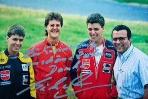 Domingos Piedade con Michael Schumacher