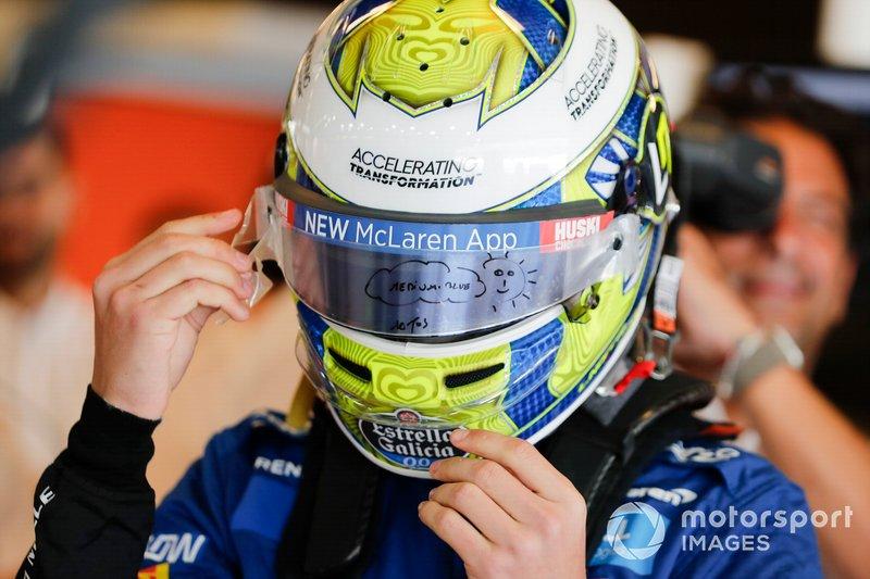 10º Lando Norris, McLaren: 38 puntos