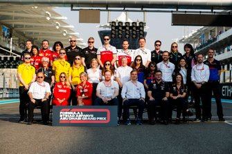 2019 F1 team press officers and personnel