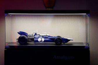 Tyrrell 001 model on display