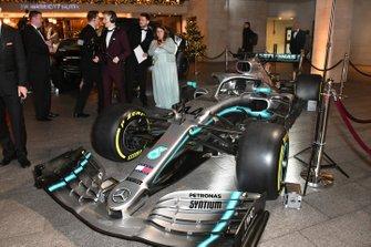 La Mercedes AMG F1 W10 de Lewis Hamilton
