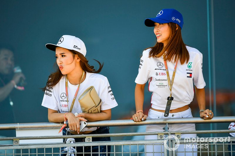 Paddock Club guests
