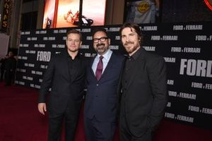 James Mangold, Director of Ford V Ferrari with Matt Damon and Christian Bale