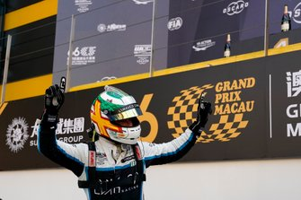Race winner Andy Priaulx, Cyan Performance Lynk & Co 03 TCR