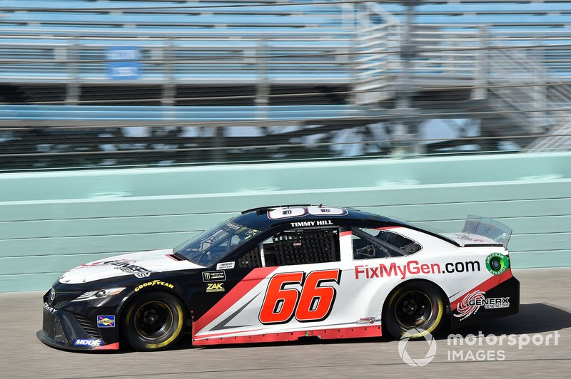 Timmy Hill, Motorsports Business Management, Toyota Camry Generex Generators