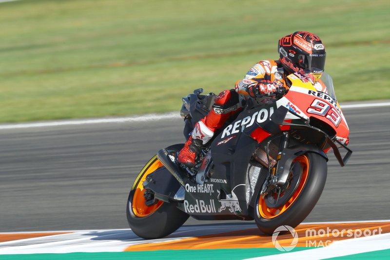 La Honda de Marc Márquez