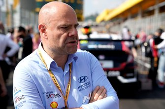 Руководитель Hyundai Motorsport Андреа Адамо
