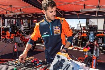 L'équipe KTM au bivouac