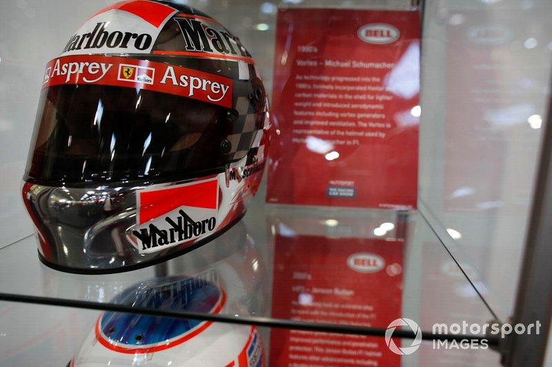 El casco de Michael Schumacher