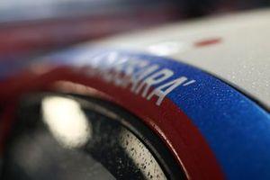 Dettaglio della Porsche di Marco Cassara, Ombra Racing
