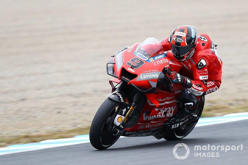 8-е место: Данило Петруччи, Ducati Team – 1:46,427