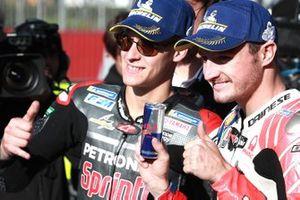 Фабио Куартараро, Petronas Yamaha SRT, и Джек Миллер, Alma Pramac Racing