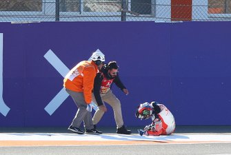 Francesco Bagnaia, Pramac Racing na crash