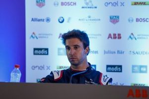 Antonio Felix da Costa, DS Techeetah, 2nd position, in the post race press conference