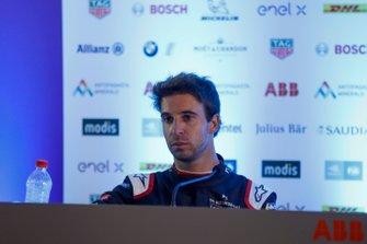 Antonio Felix da Costa, DS Techeetah, 2nd position, in the post race press conference