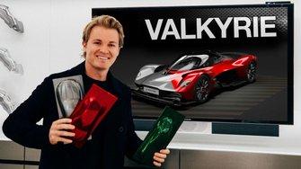 Nico Rosberg customizes Aston Martin Valkyrie