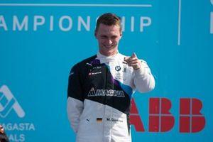 Podio: ganador de la carrera Maximilian Günther, BMW I Andretti Motorsports