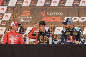 Will Davison, 23Red Racing Ford, David Reynolds, Erebus Motorsport Holden, Shane van Gisbergen, Triple Eight Race Engineering Holden