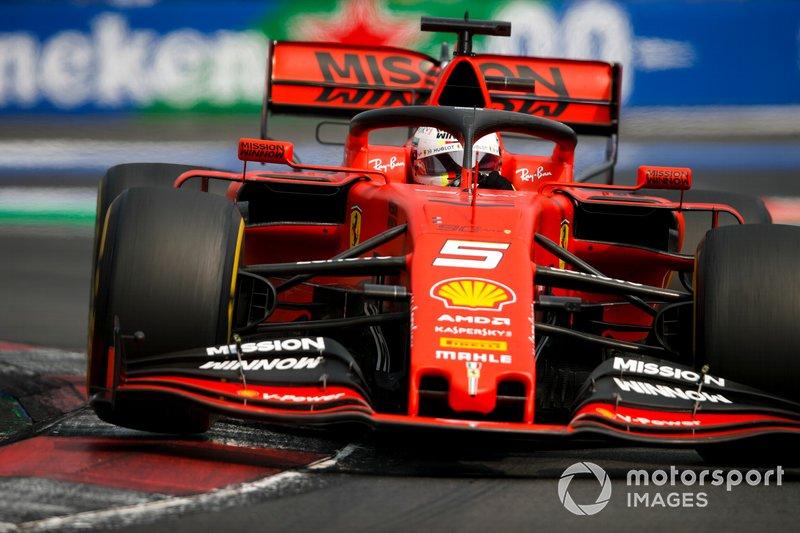 Sebastian Vettel – Q3 (ao ver as bandeiras amarelas)